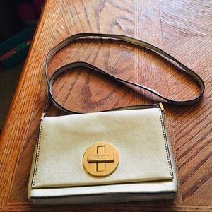 Kate Spade Sm Gold Crossbody Bag